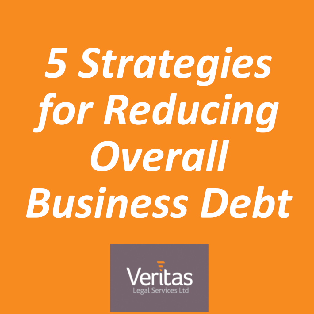 5 Strategies for Reducing Overall Business Debt